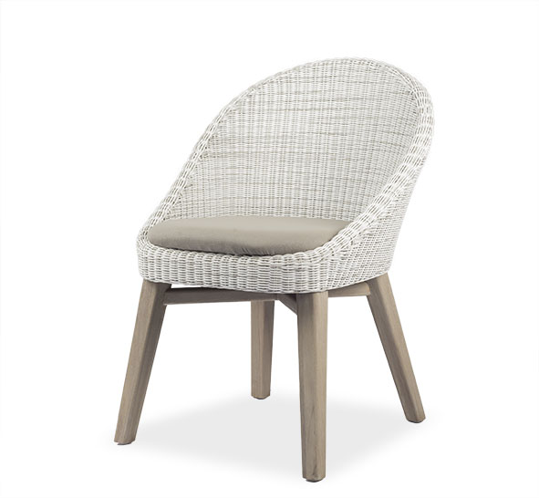 Teak and Synthetic Rattan Latif Furniture